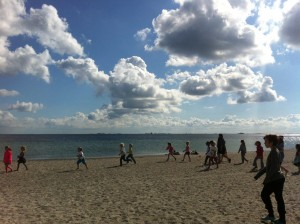 Tur til Stranden.